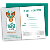 Buy Gift Certificates for The 128 Cafe